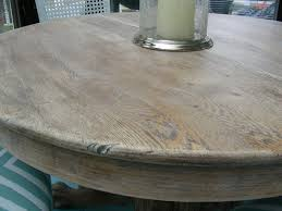 Gorgeous Shiny Things Diy Limed Oak Table A Curbside Score