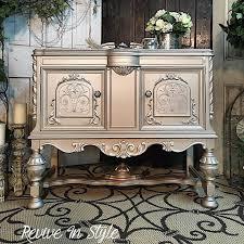 diy metallic furniture. Revive In Style Transformed A Jacobean Sideboard With Fabulously Elegant Look Using The Modern. Diy ProjectsFurniture Metallic Furniture L