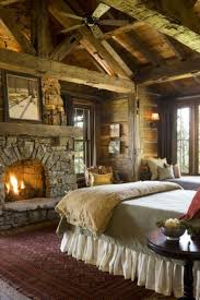 Rustic Master Bedroom Rustic Master Bedroom With Fireplace 19 This Image Is A Part