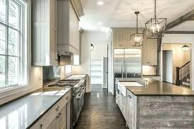 gray reclaimed wood kitchen island with farmhouse sink what is siding home depot islands for