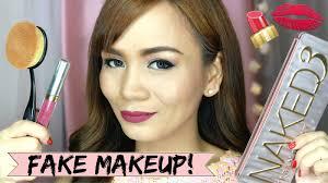 fake divisoria makeup review fake versus original makeup realasianbeauty you