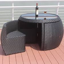 small space outdoor table and chairs