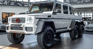 Having set the standards for luxury automobiles for almost a century, mercedes never rest on their laurels and continue to produce astounding vehicles, and with each new model launch, a new benchmark is set. 2015 Mercedes Benz G Class G 63 Amg 6x6 Brabus700 Limited 1 Of 15 Newcar Classic Driver Market