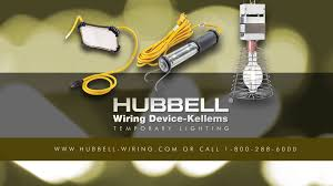 wiring device kellems temporary construction lighting
