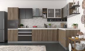 L Shaped Kitchen L Shaped Kitchen L Shaped Modular Kitchen Designs From Mygubbi