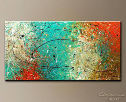 large abstract wall art nz