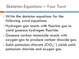 17 skeleton equations