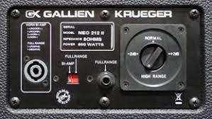 Cabinets - Gallien-Krueger