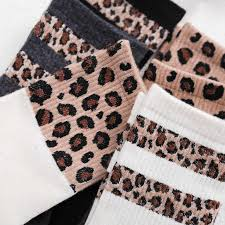 Hot Sale Leopard <b>Women</b> Socks Spring <b>Summer</b> Fashion Short ...