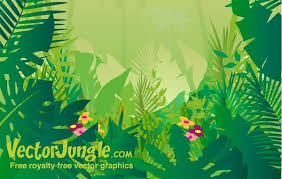 jungle background vector. Beautiful Vector On Jungle Background Vector A
