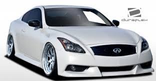 infiniti g37 coupe 2015. 20082015 infiniti g coupe g37 q60 duraflex ipl look body kit 4 piece 2015 l