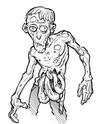 Small Picture Printable zombie coloring pages ColoringStar