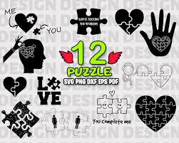 | view 240 jigsaw puzzle piece illustration, images and graphics from +50,000 possibilities. Love Needs No Words Svg It Literally Means Scalable Vector Graphics