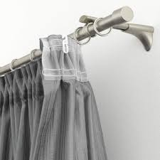 Gardinia Ganci per Tenda qualità-Pom Bianco Grezzo unità per Ø 16 mm  Confezione da 10 pz Accessori per tende e tendine Raccordi per bastoni