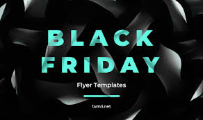 Black Flyer Backgrounds Best Black Friday Flyer Design Templates Tumli