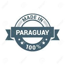 Stamp Design Paraguay Stamp Design Vector