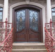 Front Doors double front doors with glass photos : Furniture: Extraordinary Front Porch Design And Decoration Using ...