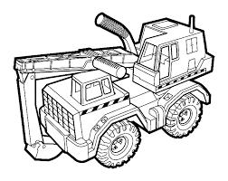 Bouwvoertuigen Kleurplaten Shovel Auto