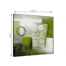 Lime Green Painting Bathroom Canvas Pictures Accessories ...