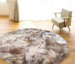 black faux fur rug wonderful round fur rug home inside sheepskin area rug popular black faux