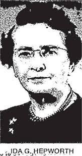 Ida Garrett Hepworth (1891-1969) - Find A Grave Memorial