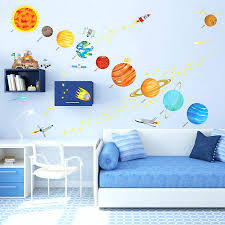 space decals for walls space themed wall decals for curious little  explorers space themed wall decals . space decals for walls ...