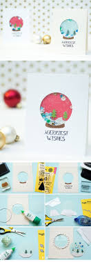 Creative Christmas Cards Make Your Own Creative Diy Christmas Cards This Winter