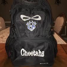 infinity cheer backpacks. cheer athletic cheetahs nfinity backpack infinity backpacks