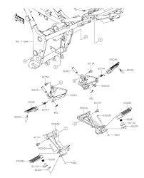 2015 kawasaki ninja 300 ex300afsa footrests parts best oem footrests parts diagram for 2015 ninja 300 ex300afsa motorcycles