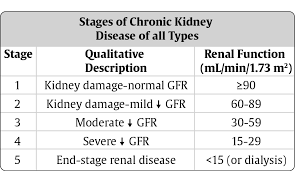 Ckd Classification Chart Highlights Chapter 29 Chronic Kidney Disease In Diabetes