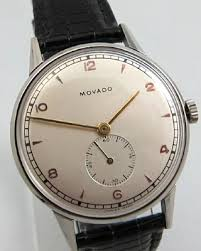 movado stainless steel watch 1960 s at ashton blakey vintage mens vintage watches