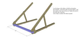 Free DIY Furniture Plans: How to Build a Swing A-Frame - The Design  Confidential