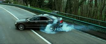 The Audi A8, Transporter 3, and Some Super Rad Stunts