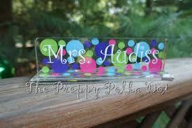 custom teacher desk name plates ayresmarcus personalized teacher name plates
