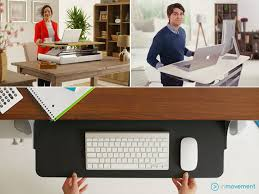 home office standing desk. three desk color options home office standing