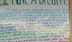 pathfinder students have a dream pinckney community schools i have a dream