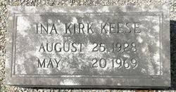 Ina Kirk Keese (1928-1969) - Find A Grave Memorial