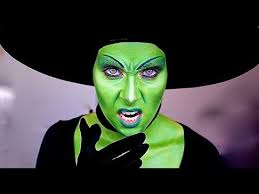 wicked witch of the west makeup tutorial