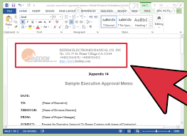 how to write a memo by using templates vripmaster set up your header keep in mind that everything on the template is basically an example and you can customize every portion of it to fit your particular