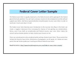 Federal Cover Letter Template Local Government Cover Letter Examples