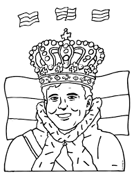 Kleurplaat Troonwisseling Koning Willem Alexander Kleurplatennl