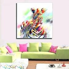 colorful horse paintings wall decor paintings new design abstract colorful horse painting animal modern home canvas colorful horse paintings