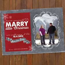 Christmas Wedding Save The Date Cards Save The Date Christmas Card Marry Christmas Holiday Save The Date