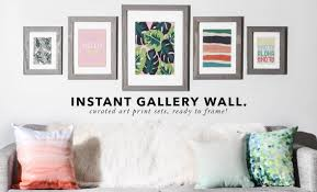 gallery wall print on gallery wall art prints with gallery wall sets deny designs