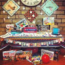 chutes and ladder game centerpiece monopoly game fundraiser