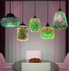 vintage mercury glass ceiling light