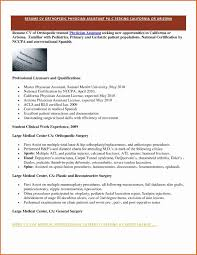 Physician Assistant Resume Medical Documentation Examples Awesome Resident assistant Resume 31