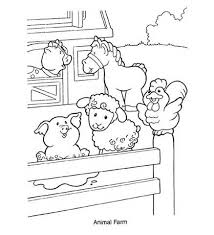 Small Picture Baby Farm Animal Coloring Pages RealisticFarmPrintable Coloring