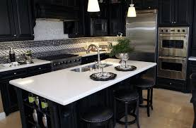 white stone kitchen countertops. Simple Countertops White Quartz Countertop In Kitchen With Stone Kitchen Countertops K