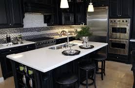 white quartz countertop in kitchen